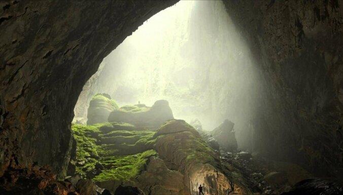 Pasaules lielākā ala - vieta, kurā ir pat sava upe un mežs