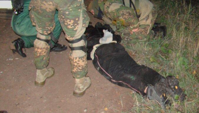 На границе прошла операция по задержанию группы контрабандистов