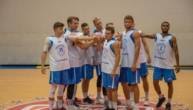 'Ventspils' basketbolisti pārbaudes mačā uzvar Panevēžas komandu