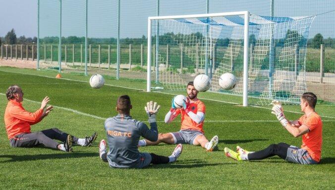 Foto: Kā izskatās 'Riga FC' jaunā treniņu bāze Piņķos
