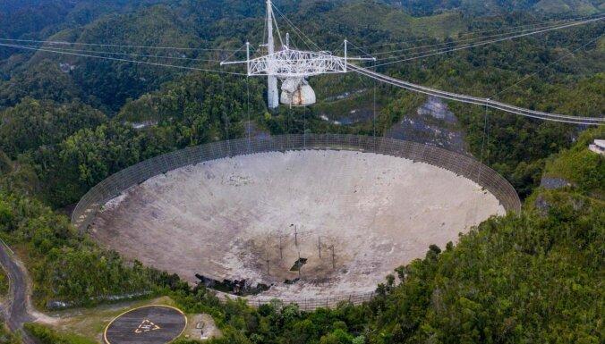 ФОТО: Разрушился самый большой радиотелескоп в мире