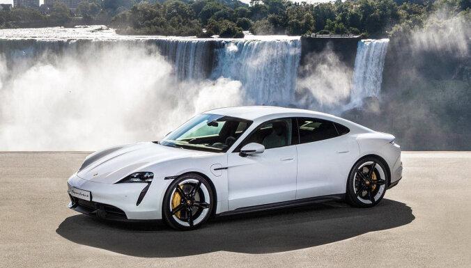 'Porsche Taycan' elektromobilis – 761 ZS un 2,8 sekundes līdz 'simtam'