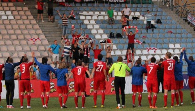 Отличный старт латвийских клубов в еврокубке: две победы и ничья