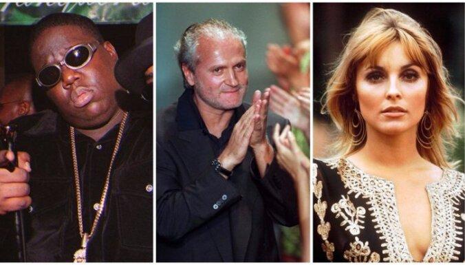 Atriebe, sazvērestības un sērijveida slepkavas: slavenības, kuras nogalinātas