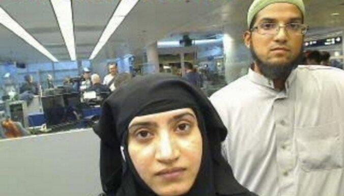 FIB: Kalifornijā slaktiņu sarīkojušais pāris bija radikalizējies jau gadiem ilgi