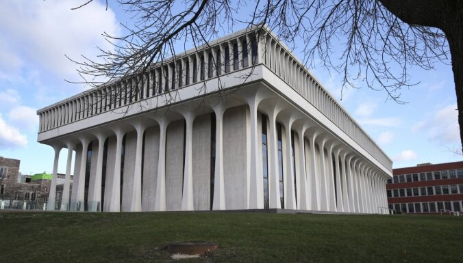 Prinstonas Universitāte atsakās no bijušā ASV prezidenta Vudro Vilsona vārda