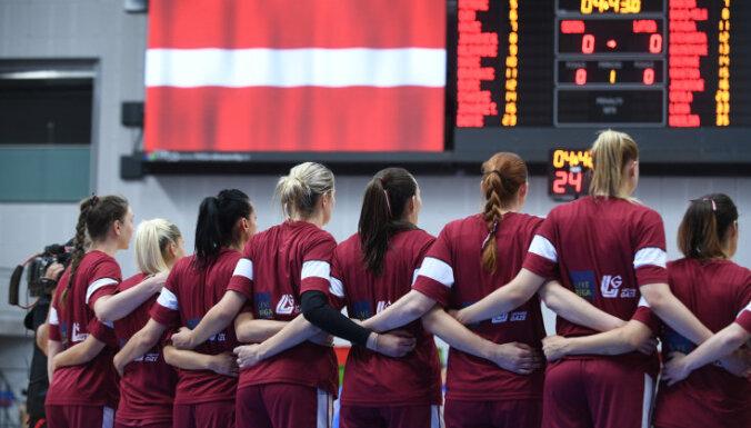 Latvijas sieviešu basketbola izlase pārbaudes turnīra spēlē uzvar Zviedriju