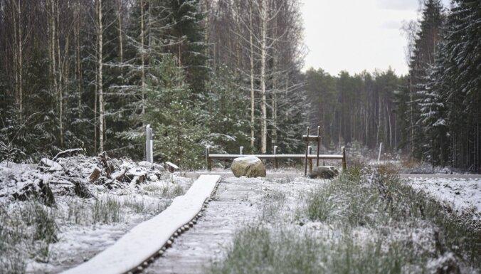 ФОТО. Зимняя прогулка по красивейшей тропе вокруг озера Пурэзерс