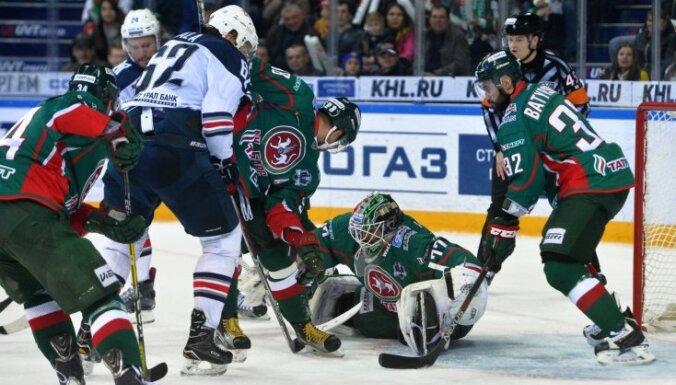 Čempioni Magņitogorskas 'Metallurg' pievienojas SKA komandai Gagarina kausa finālā