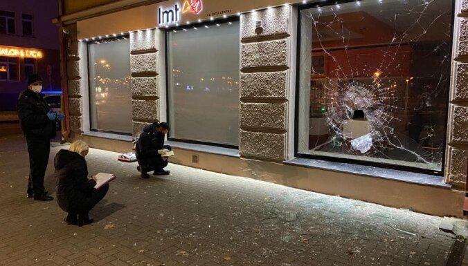 ФОТО. Граждане Румынии задержаны на попытке кражи из магазина LMT