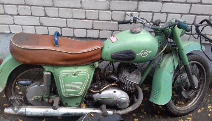 Par dārza tehnikas un motociklu zādzībām aizturēts vīrietis