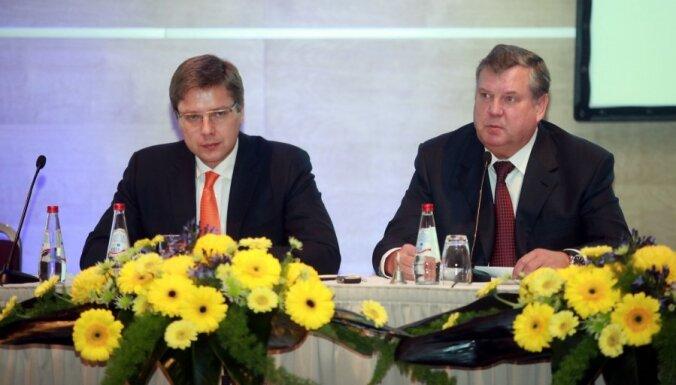 Ušakovs pārņem partijas 'Saskaņa' vadības grožus