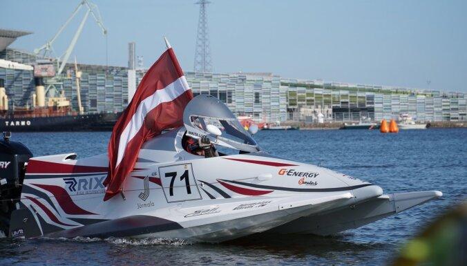 Ātrumlaivu braucējs Lijcs kronēts par Baltkrievijas čempionu