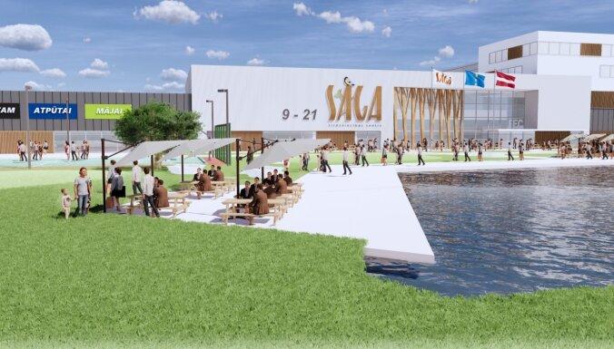 Investējot 68 miljonus eiro, būvēs jaunu tirdzniecības centru blakus 'Ikea'