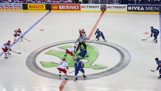 Ilggadējais ģenerālsponsors 'Škoda' atsakās atbalstīt PČ hokejā Baltkrievijā