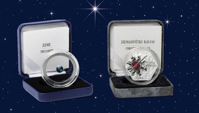 Divas Latvijas monētas gūst atzinību starptautiskā konkursā