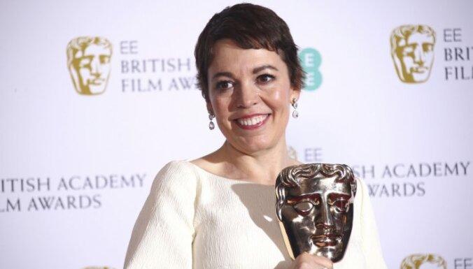 BAFTA ceremonijā septiņas godalgas saņem 'Favorīte'; galvenā balva – filmai 'Roma'