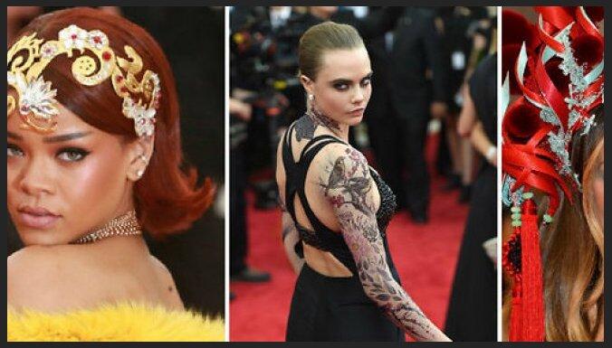 ФОТО:Прически и макияж звезд грандиозного бала института костюма