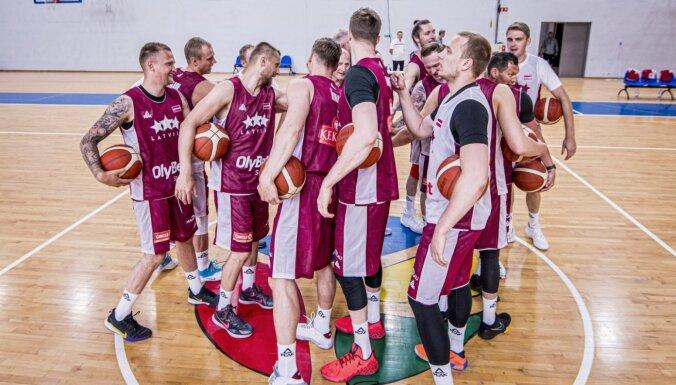 Latvijas basketbola izlases sastāvā turnīram Igaunijā gatavojas desmit debitanti