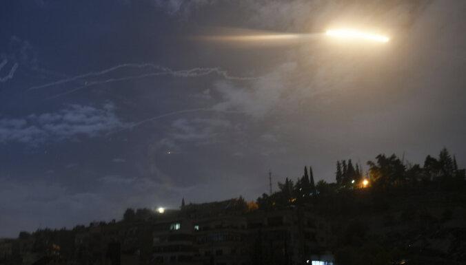 Израиль обстрелял ракетами цели в Сирии