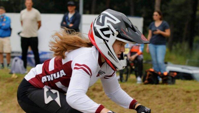 Latvijas BMX jauniešiem trīs zelta godalgas Eiropas BMX čempionātā