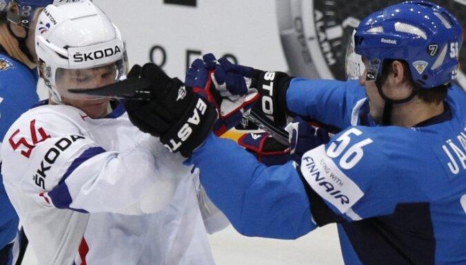 VIDEO: Somijas hokejisti nepažēlo Franciju