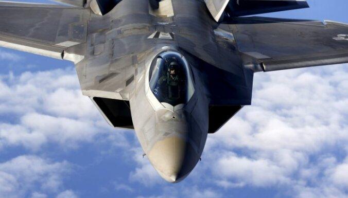 Российские штурмовики перехвачены американскими истребителями над Сирией
