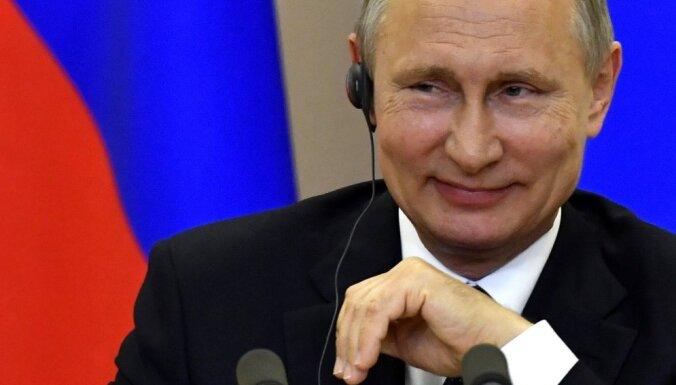 Путин отказался сниматься в предвыборных роликах