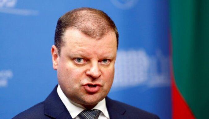 Lietuvas premjers sola atbalstīt Gruzijas virzību uz ES un NATO
