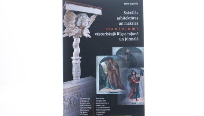 Klajā laista grāmata par vēsturiskā Rīgas rajona un Jūrmalas sakrālo arhitektūru