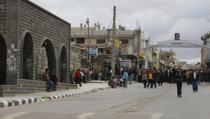 В Сирии подавлено восстание, власти обвиняют США