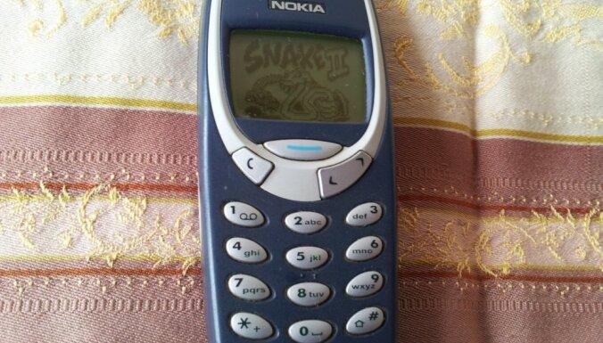Tirgū atgriezīsies leģendārais 'Nokia 3310'