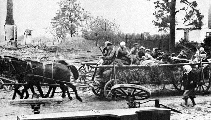 Foto: Pirms 70 gadiem Kēnigsberga krita Sarkanās armijas rokās
