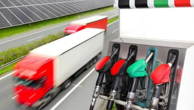 Откроется первая в странах Балтии автозаправка со сжиженным природным газом