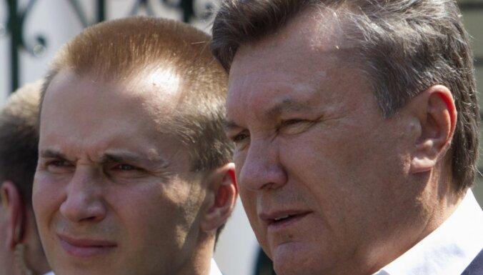 Янукович и его сын вновь пытаются оспорить санкции ЕС