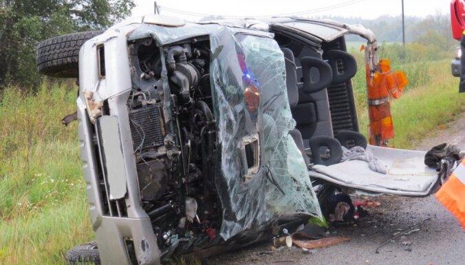 Visbiežāk avārijas bez OCTA tradicionāli izraisa Rēzeknes rajonā
