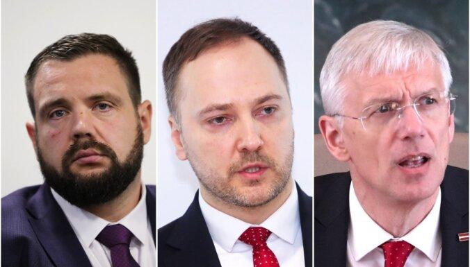 Premjers uzdod 'KPV LV' ministriem skaidrot elektrības pazušanu Rīgā; partija nikna