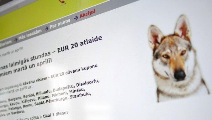 'Vīriešu dienas' akcija: norāda gan uz Roņa pārspīlēto sašutumu, gan uz 'airBaltic' kļūdu