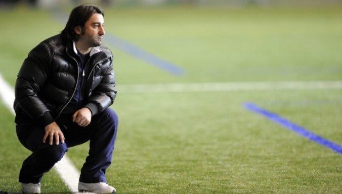 """Тренера """"Сконто"""" отстранили на 2 игры и оштрафовали на 100 евро"""