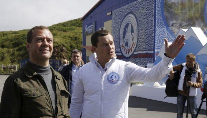 Медведев посетил Курилы и увеличил площадь шельфа РФ в Охотском море