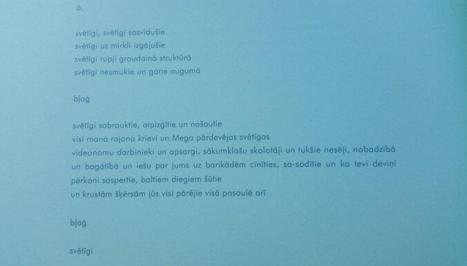 Stepaņenko par dzejoļa 'Svētīgi' analīzi: tas bija kaitējošs materiāls