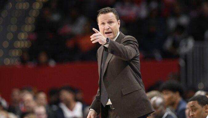 'Wizards' treneris Brūkss: Bertānam ir lielas izredzes uzvarēt tālmetienu konkursā