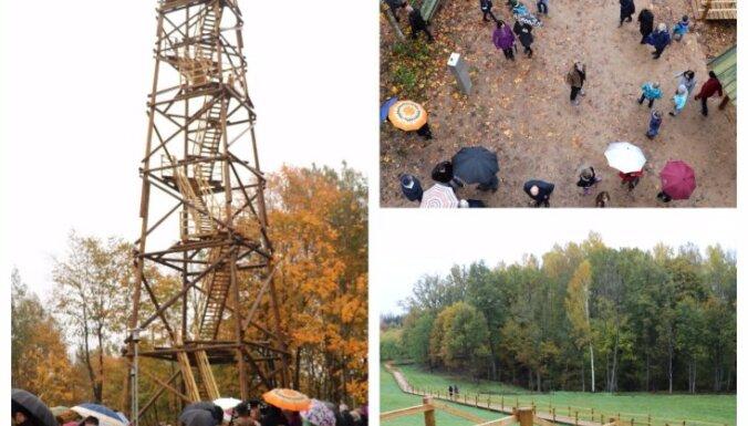 Ogres novadā tapis jauns skatu tornis par godu Dullajam Daukam