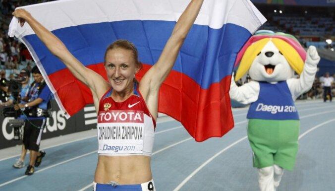 IAAF pārmet Krievijai 'selektīvu' dopinga lietotāju sodīšanu; iesūdz Sporta arbitrāžas tiesā