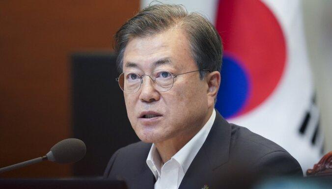 Dienvidkorejas prezidents vēlas Trampa-Kima samitu pirms ASV vēlēšanām