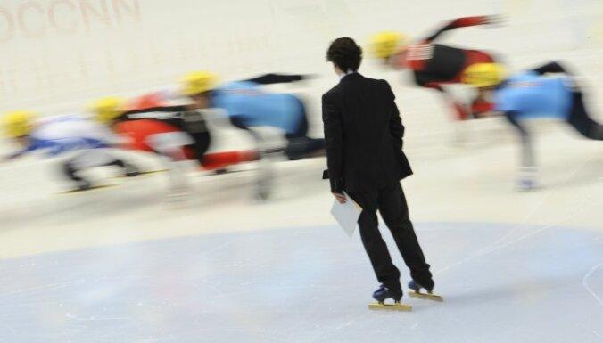 Latvijas šorttreka stafetes komanda kvalificējas Eiropas čempionāta pusfinālam