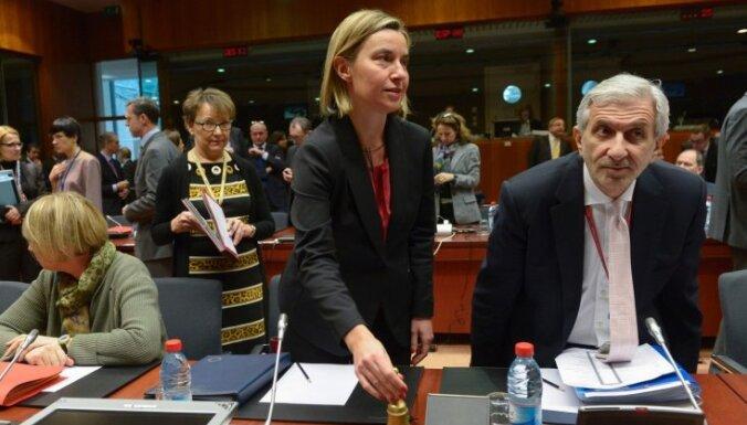 ES ārlietu ministri pieņem paziņojumu par Tuvo Austrumu miera procesu