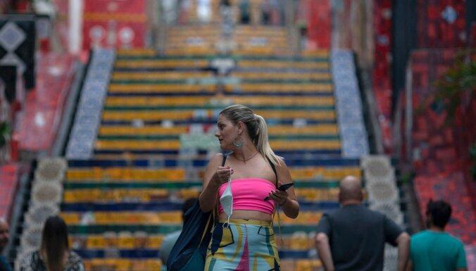 Covid-19: Brazīlijā upuru skaits pārsniedzis 400 000