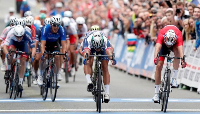 Šveicē dota zaļā gaisma pasaules čempionāta riteņbraukšanā aizvadīšanai