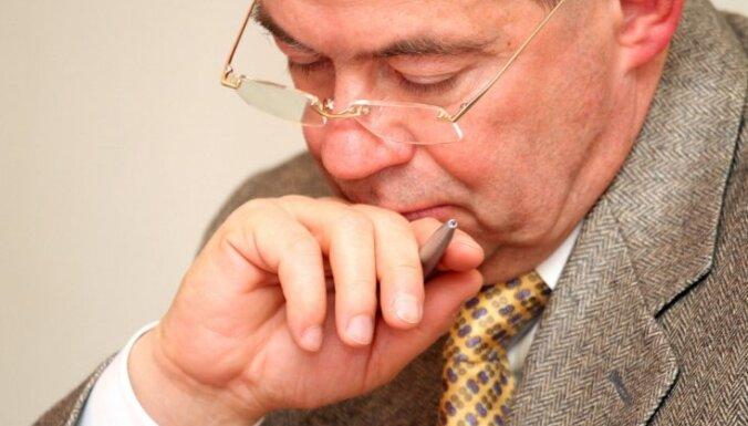 Lembergs par Zatleru kā prezidenta kandidātu: viņš ir 'viens no'